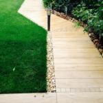 Pavimento effetto legno per esterno