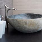 Lavabo in pietra naturale H2STONE