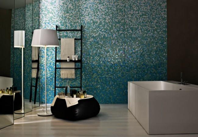 Affascinante piastrelle bagno mosaico bisazza bagno idee