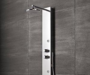 Pannelli doccia o colonne doccia li potete trovare da - Pannelli per rivestimento interno doccia ...