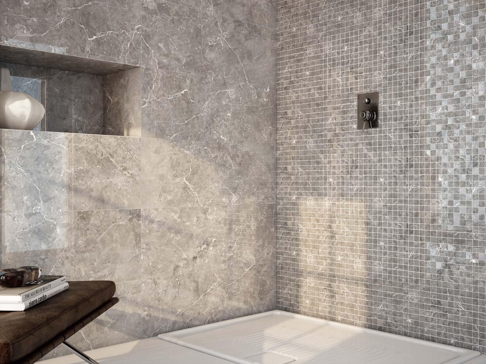Piastrelle bagno effetto marmo. beautiful gres effetto marmo marazzi