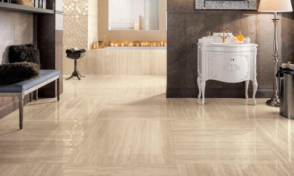 Rivestimento effetto marmo bottacini pavimenti for Mosaici e marmi per pavimenti e rivestimenti