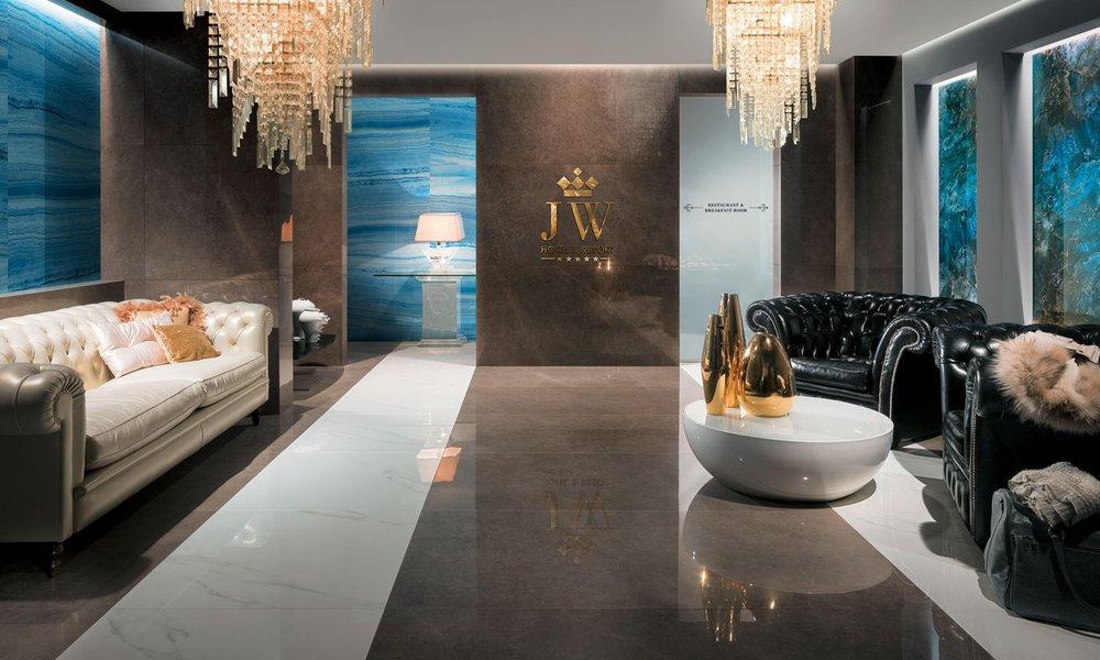 Rivestimento effetto marmo bottacini pavimenti - Piastrelle di marmo ...