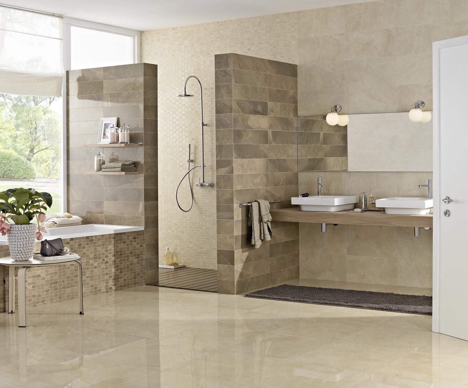 Rivestimento effetto marmo bottacini pavimenti