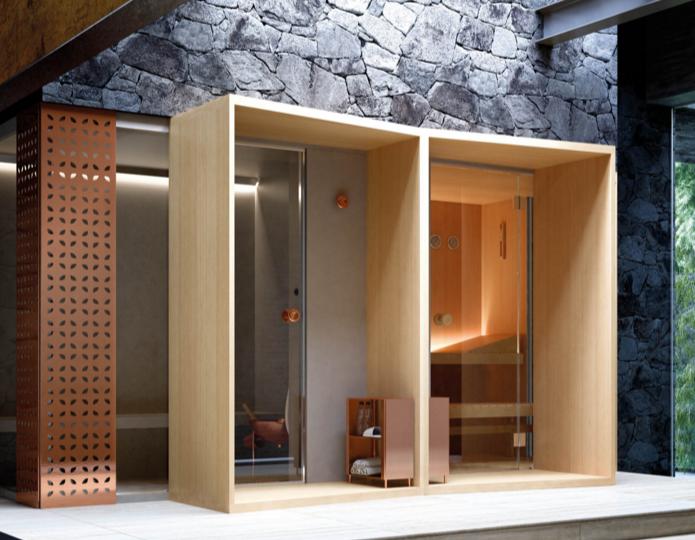 Bottacini pavimenti ralizzata saune e hammam per hotel o privati
