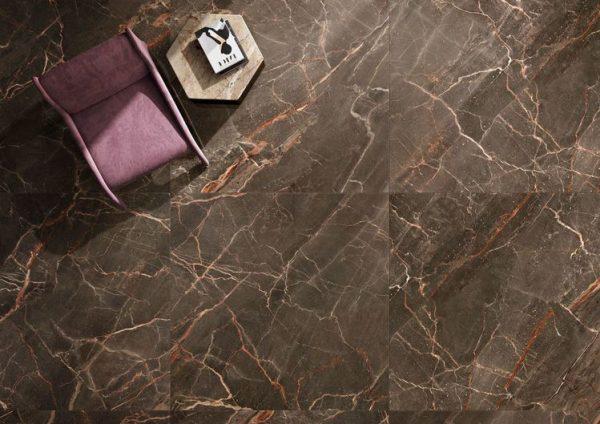 porcellanato effetto marmo art deco 9cento
