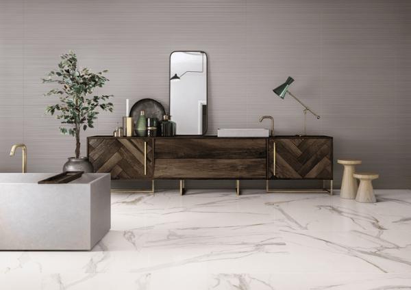gres porcellanato effetto marmo classico