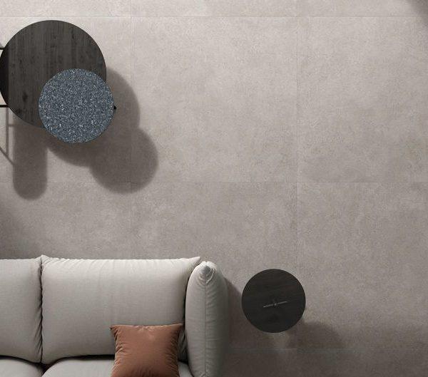 Gres porcellanato effetto pietra calcarea