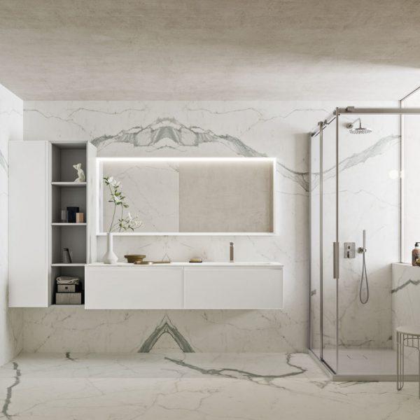 Absolute: Mobili bagno moderni ed eleganti.