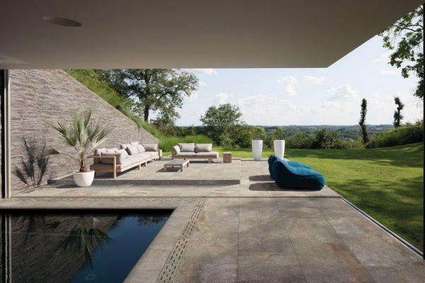 Midlake - Gres porcellanato effetto pietra naturale per outdoor