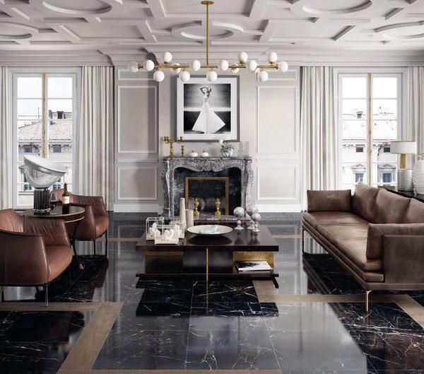 gres porcellanato effetto marmo classico ed elegante