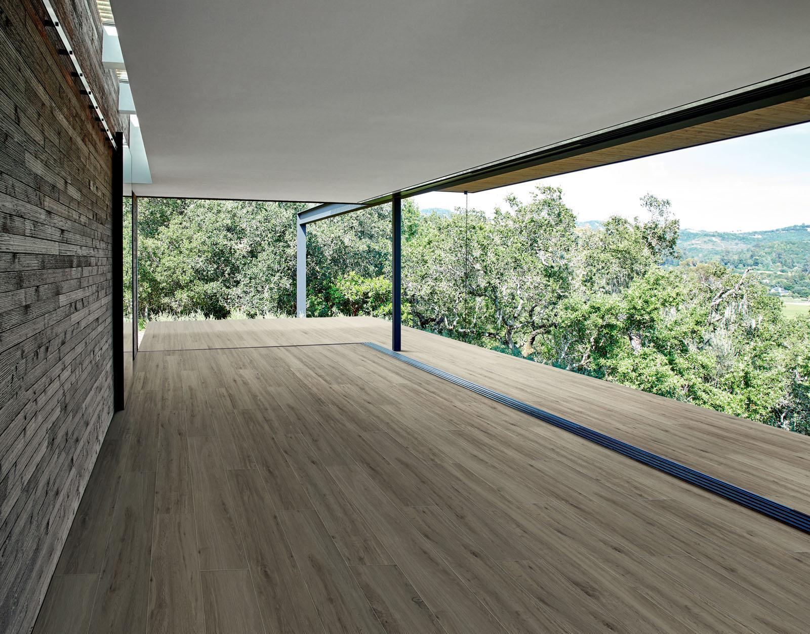 Pavimento Effetto Parquet Marazzi gres effetto legno dall'affascinante aspetto vissuto