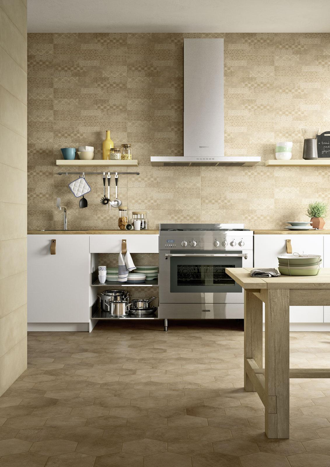 Clayline Rivestimento Cucina Effetto Cemento - Bottacini ...