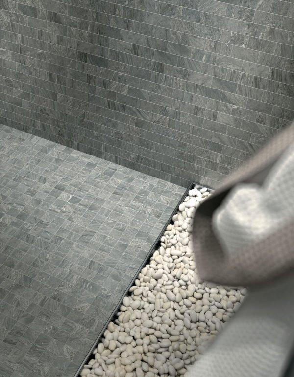 Lastra in gres porcellanato effetto pietra