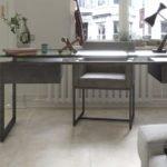 rivestimento effetto Metallo e cemento