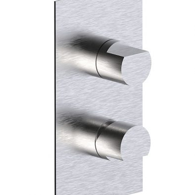 Parte esterna visibile monocomando incasso con deviatore a dischi ceramici 2-3 vie