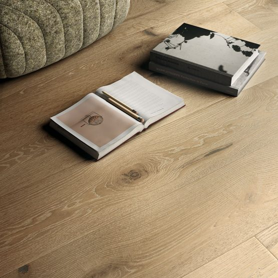 Pavimento legno rovere naturale In Ground