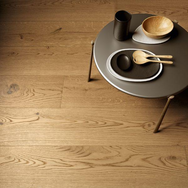 Pavimento legno rovere naturale In Ground